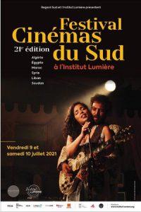 Affiche 2021 du Festival des Cinémas du Sud