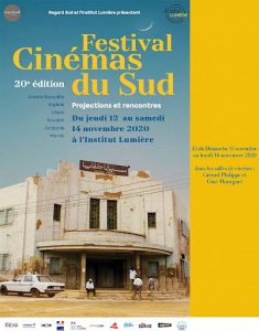 Affiche 2020 du Festival des Cinémas du Sud